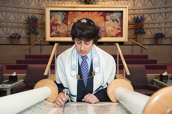 how long bar mitzvah